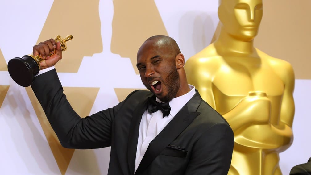 Kobe Bryant winning an Oscar for Dear Basketball. Did the Oscar contribute to his net worth?