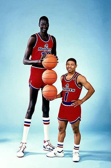 Who is the smallest player in the NBA?