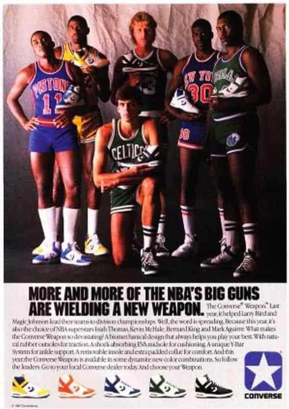Interesante desarrollo de éxito  Converse Weapon: Choose your weapon – Basketball Noise | Find Your Frequency