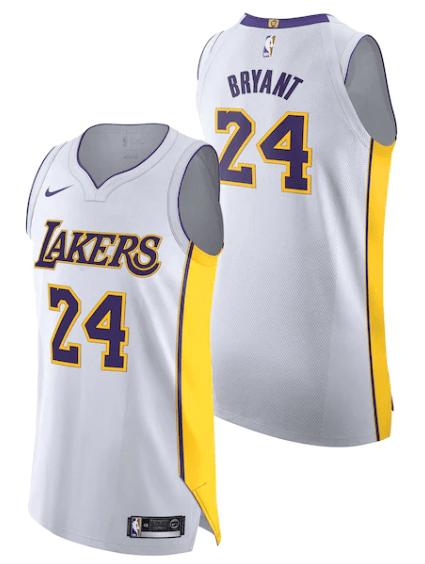 A Guide To Kobe Bryants Basketball Jerseys – Basketball Noise ...