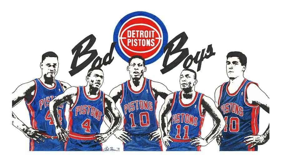 Who were the Detroit Piton Bad Boys?s