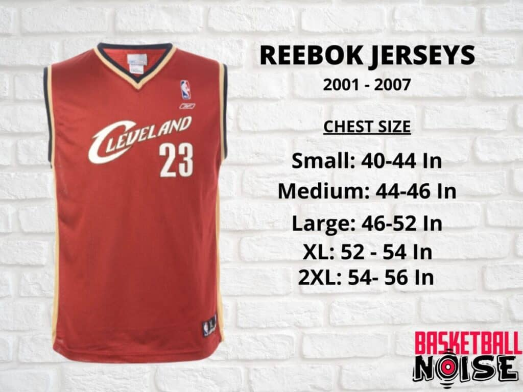 What Is The Nba Jersey Size Basketball Noise Find Your Frequency